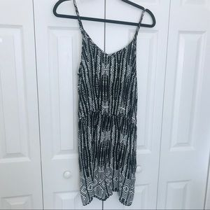 Mossimo from Target Romper Black and White Size XL